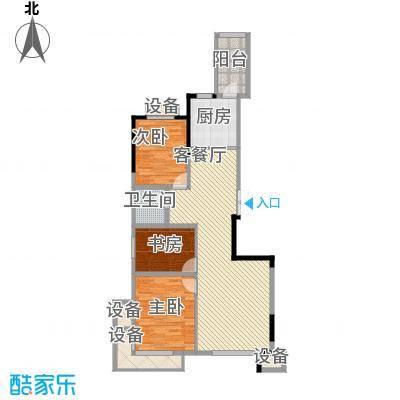 民贵家园112.00㎡民贵家园3室户型3室