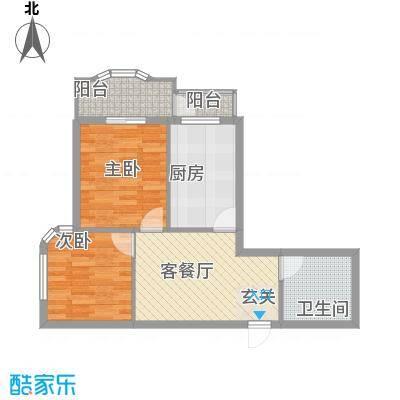 银领国际公寓72.00㎡银领国际公寓户型图1室1厅1卫1厨户型10室
