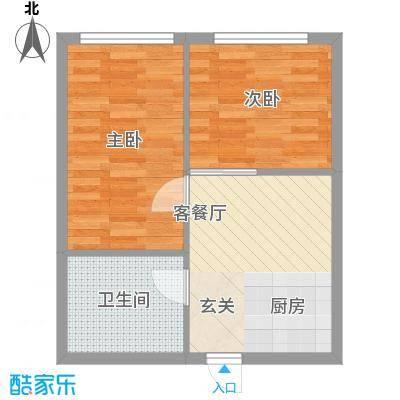 银领国际公寓60.00㎡银领国际公寓户型图1室1厅1卫1厨户型10室
