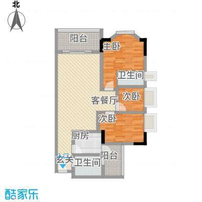 黄沙岗小区113.00㎡黄沙岗小区3室户型3室