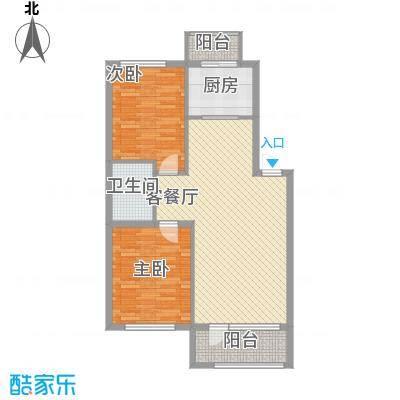 保利花园・荣域92.00㎡保利花园・荣域2室户型2室