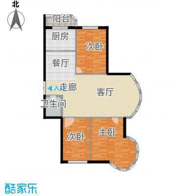 绿苑小区130.00㎡绿苑小区户型图3室2厅户型10室