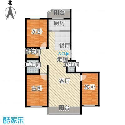 绿苑小区165.00㎡绿苑小区户型图3室2厅户型10室
