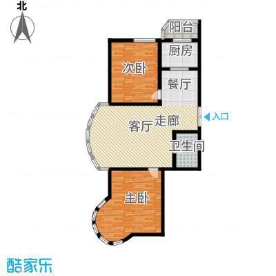 绿苑小区102.00㎡绿苑小区户型图2室2厅户型10室
