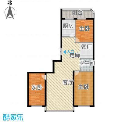 绿苑小区133.00㎡绿苑小区户型图3室2厅户型10室