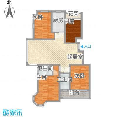 中惠爱丁堡126.00㎡中惠爱丁堡户型图舒适型三房3室2厅2卫1厨户型3室2厅2卫1厨