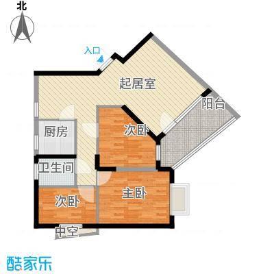 深圳聚豪园户型图4