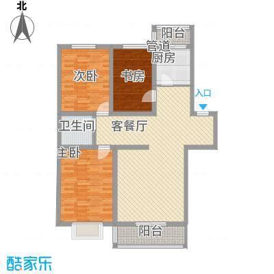 万熹绿景126.00㎡万熹绿景户型图3室2厅1卫户型10室