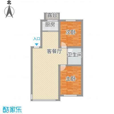 浅草绿阁95.00㎡浅草绿阁2室户型2室