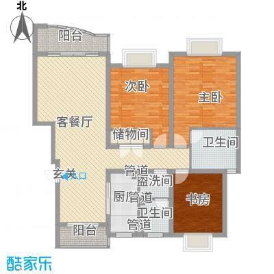 何山花园157.00㎡何山花园户型图户型图3室2厅2卫户型3室2厅2卫