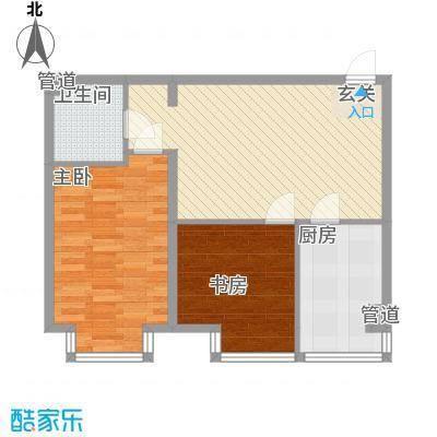 千缘爱城78.70㎡千缘爱城户型10室