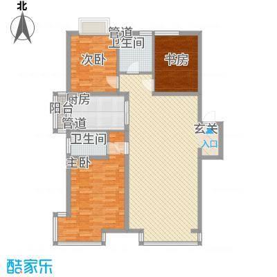 千缘爱城138.50㎡千缘爱城户型10室