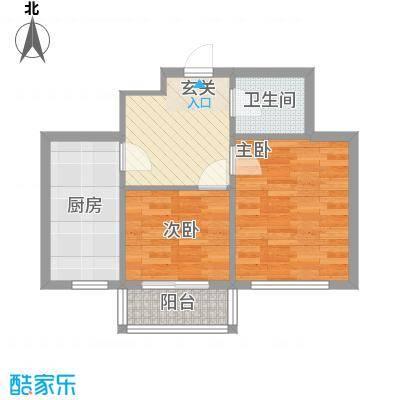 盛世家园62.26㎡盛世家园户型图2室2厅1卫户型10室