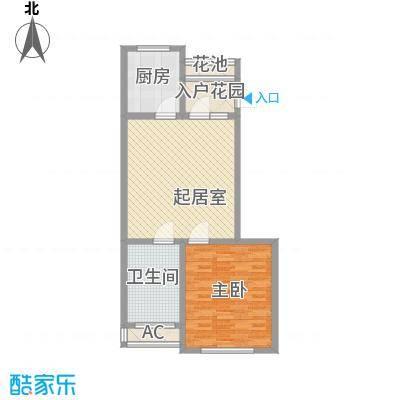 恒润御林湾98.00㎡恒润御林湾2室户型2室