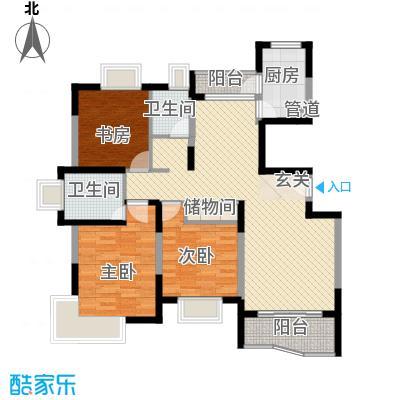 蔚蓝城市花园126.80㎡上海蔚蓝城市花园户型10室