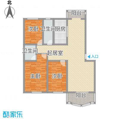 世博家园140.25㎡世博家园户型图3室2厅2卫户型10室
