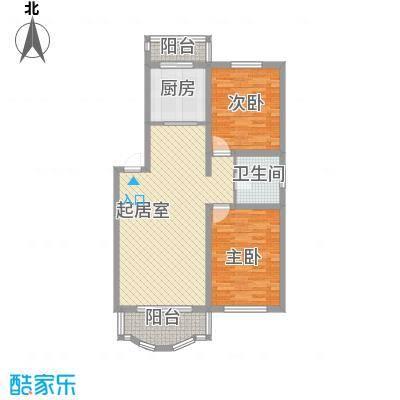 世博家园101.82㎡世博家园户型图2室2厅1卫户型10室