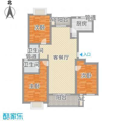 中锐山水映象141.20㎡中锐山水映象户型图户型图3室2厅2卫1厨户型3室2厅2卫1厨