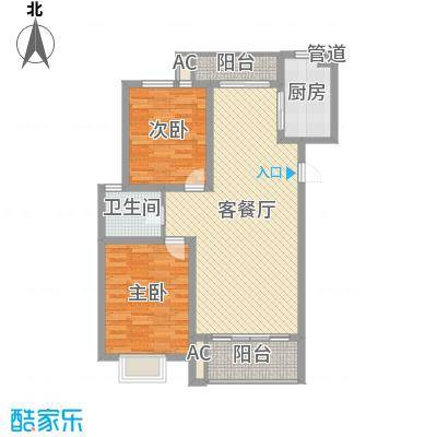 中锐山水映象108.79㎡中锐山水映象户型图户型图2室2厅1卫1厨户型2室2厅1卫1厨