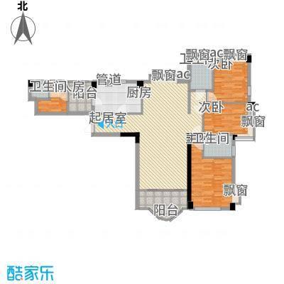 康湖杏花村215.00㎡康湖杏花村户型10室