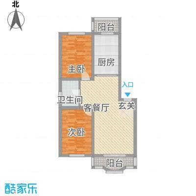 鑫丰金园鑫丰金园户型图2室2厅1卫户型10室
