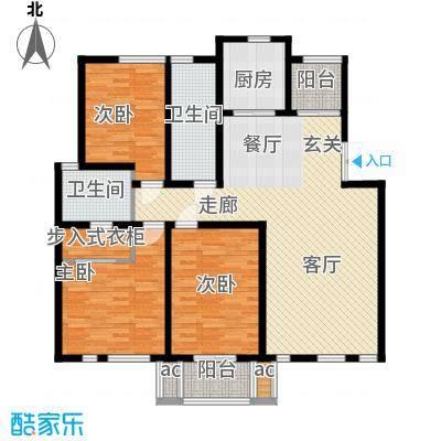 金光大道123.00㎡金光大道户型图金光D户型3室2厅2卫1厨户型3室2厅2卫1厨