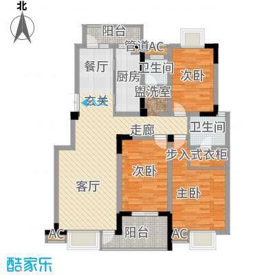 晋斯佳苑102.00㎡晋斯佳苑3室户型3室