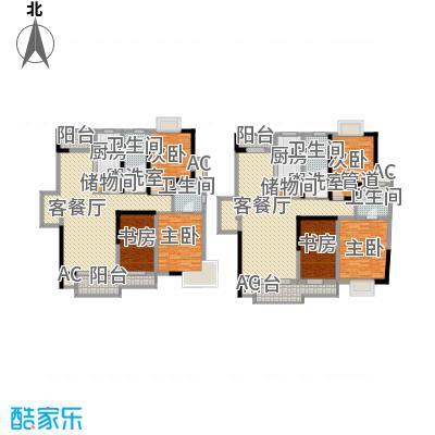 枫庭丽苑146.00㎡枫庭丽苑4室户型4室