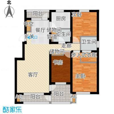 晋斯佳苑91.00㎡晋斯佳苑3室户型3室