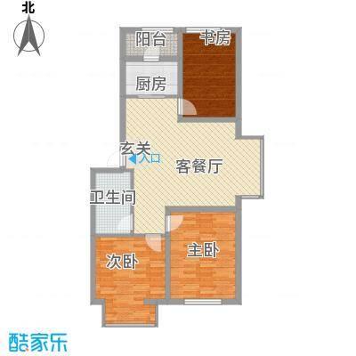 里仁居97.37㎡里仁居户型图户型图3室3室2厅1卫户型3室2厅1卫