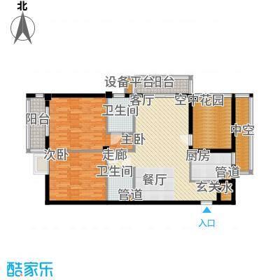 达明阁二期107.37㎡达明阁二期户型图户型A_~32室2厅2卫1厨户型2室2厅2卫1厨