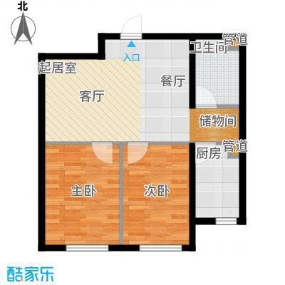 兴盛家园78.00㎡兴盛家园2室户型2室