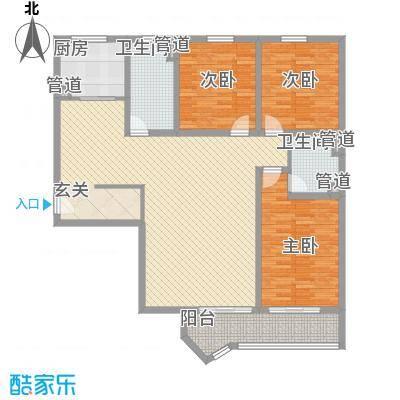 虹桥府邸156.49㎡虹桥府邸户型图户型图3室2厅2卫1厨户型3室2厅2卫1厨