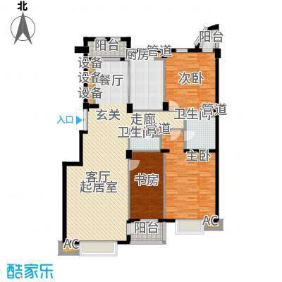 美林逸墅142.79㎡美林逸墅户型图3室2厅2卫户型10室