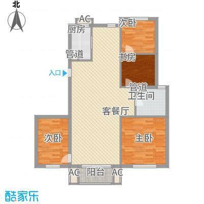 顺德园119.34㎡顺德园户型图K户型3室2厅1卫户型3室2厅1卫