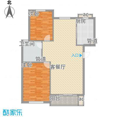 顺德园97.86㎡顺德园户型图2室2厅1卫户型10室