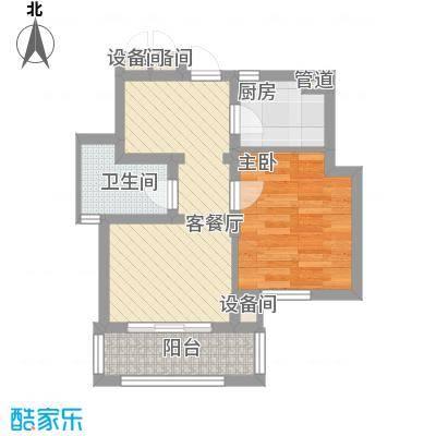 新江湾佳苑54.00㎡新江湾佳苑户型图F户型1室2厅1卫户型1室2厅1卫