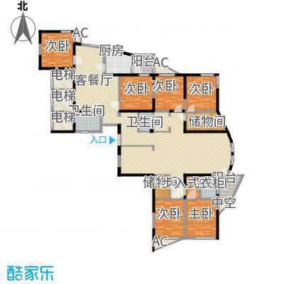 未来城320.60㎡未来城户型图8室2厅3卫户型10室