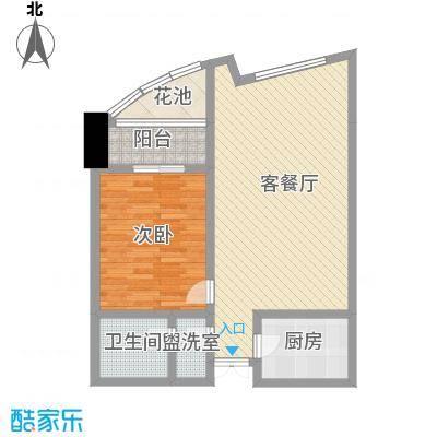 未来城94.38㎡未来城户型图AB户型1室1厅1卫户型1室1厅1卫