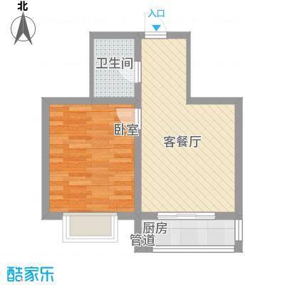 万熹绿景51.00㎡万熹绿景户型图1室1厅1卫户型10室