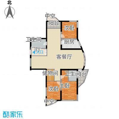 未来城215.01㎡未来城户型图AB户型4室2厅2卫户型4室2厅2卫
