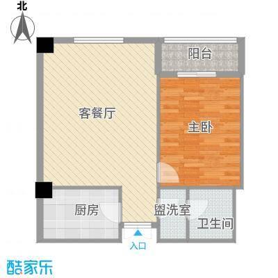 未来城83.26㎡未来城户型图AB户型1室1厅1卫户型1室1厅1卫