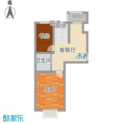 方方圆小区66.00㎡方方圆小区2室户型2室