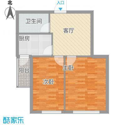 东森总部商务广场89.00㎡东森总部商务广场2室户型2室