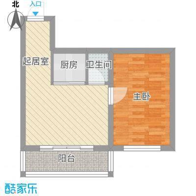 世博家园51.71㎡世博家园户型图1室1厅1卫户型10室