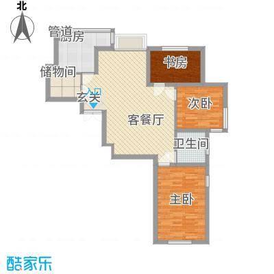 万泉枫景万泉枫景户型图3室2厅1卫户型10室