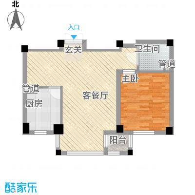 珠林小区70.00㎡珠林小区2室户型2室