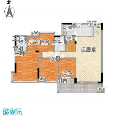 置业大厦137.00㎡置业大厦4室户型4室
