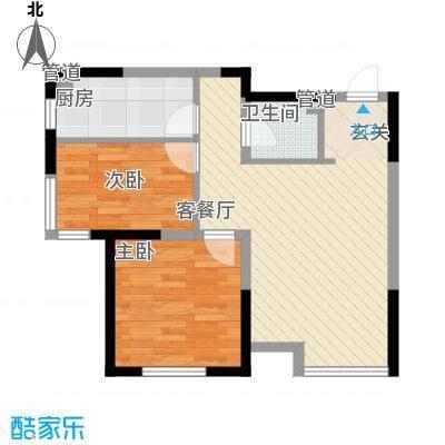 友佳荣成花园73.00㎡友佳荣成花园2室户型2室