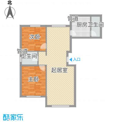 虹景家苑114.84㎡虹景家苑户型图2室2厅2卫1厨户型10室